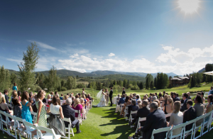 Aspen Outdoor Wedding