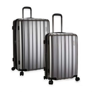 Latitude 40 N Expandable Hardside Luggage in Gray