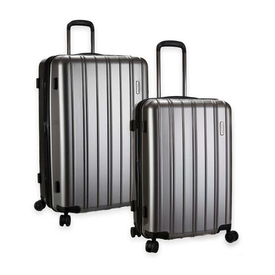 Latitude 40 N Expandable Hardside Luggage in Gray