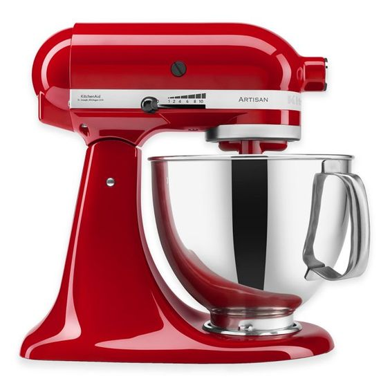 KitchenAid Artisan 5. Qt Stand Mixer in Empire Red