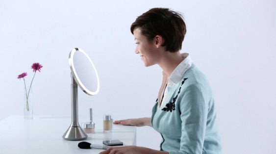 "Simplehuman 8"" Sensor Touch Mirror"