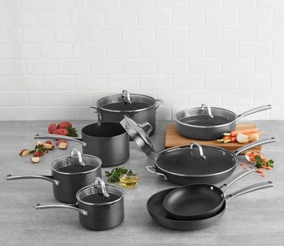Calphalon Classic 14 Piece Nonstick Cookware