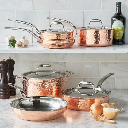 Sur La Table Top 20 Gift Registry Items | Copper 10 Piece Cookware