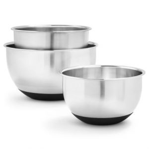 Sur La Table Wedding Gift Registry Products| Stainless Steel Mixing Bowls