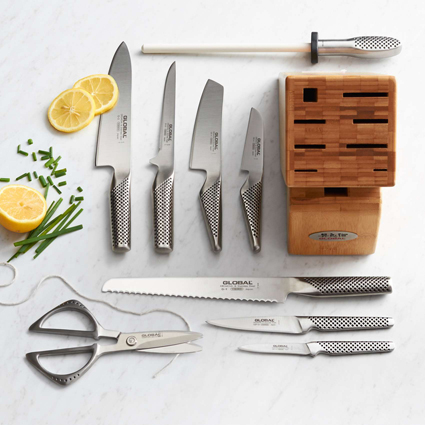 Sur La Table Top 20 Wedding Registry Kitchen Tools | 10 Piece Knife Block Set
