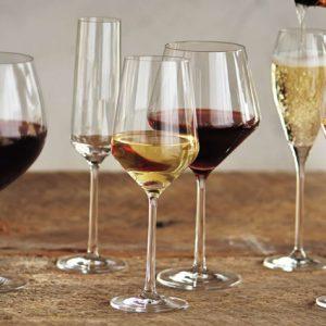 Hottest Wedding Registry Items | Schott Zwiesel Wine Glasses and Decanter