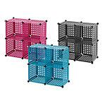 plastic cube grid