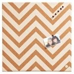 zigzag cork board