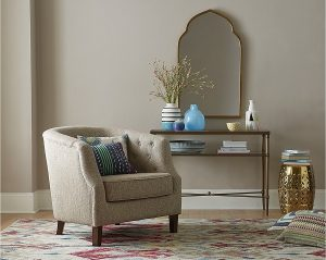 Macy's Top Registry Gifts | Penelope Fabric Accent Chair