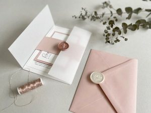 Blush invitation