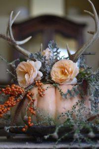 Fall Bridal Shower Pumpkin Decor