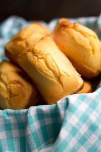 Fall in Love Shower Menu | Mini Cornbread Loaves