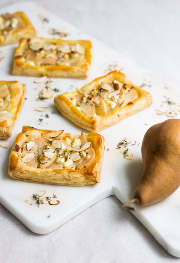 Fall Bridal Shower Ideas | Pear Feta Tarts