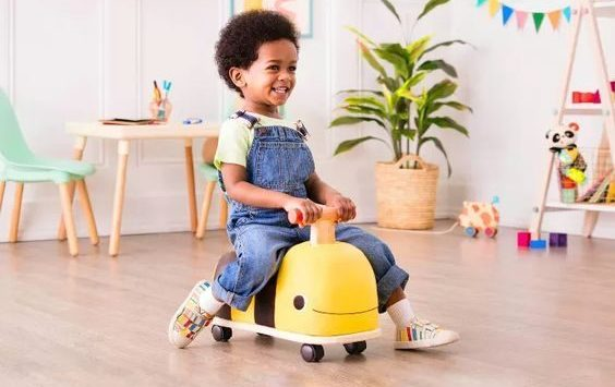 Holiday Gifts for Kids Under 2 | B. Toys  Wooden Ride On