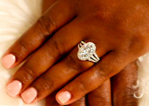 Real Housewives of Atlanta Loved Kandi Burress's Oval Diamond Cluster Ring