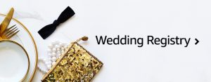 Get your groom in on the wedding registry fun with awesome items from Amazon!