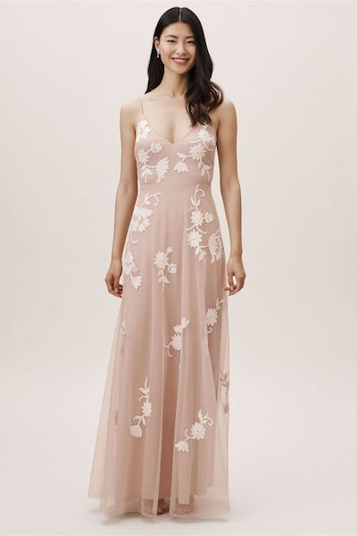 Florida Applique Gown for Bridesmaid Dress