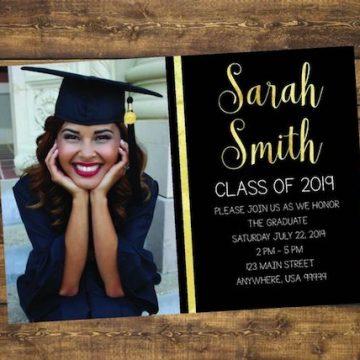2019 Graduate invitation