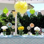 Sweet and Simple Spring Baby Shower Menu