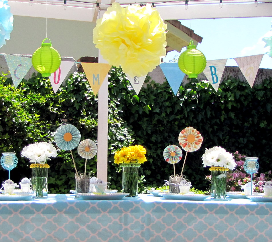 Spring Baby Shower Decorations