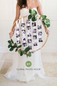 Hula Hoop Wreaths DYI Wedding