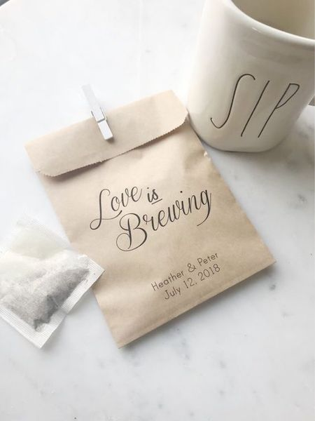 Love is Brewing Tea Bags