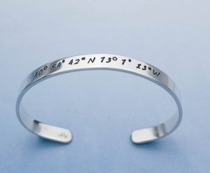 Gifts Grads Want | Longitude/Latitude Bracelet