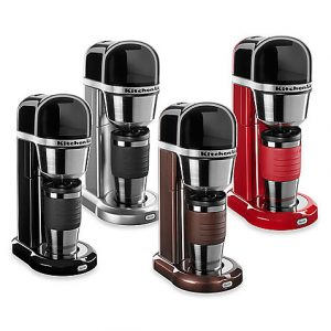 Top Dorm Essentials from Bed Bath and Beyond: Single Serve Coffee Maker