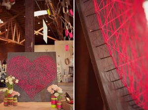 The Best DIY Wedding Ideas: String Art