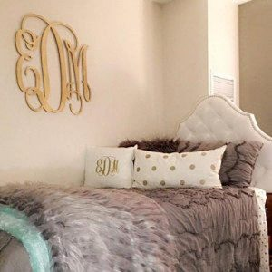 Gifts Grads Want | Monogram Dorm Decor