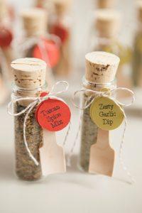The Best DIY Wedding Ideas: Mini Spice Dip Mix Wedding Favor