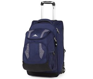 Great Gifts for Graduates- High Sierra Adventure Access Carry On Roller Backpack