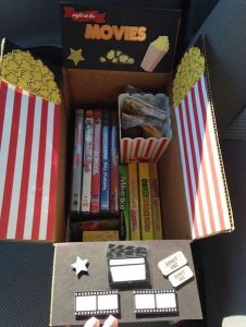 Gifts Grads Want | Movie Night Care Package