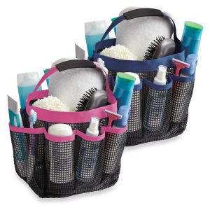 Top Dorm Essentials from Bed Bath and Beyond: Mesh Shower Tote