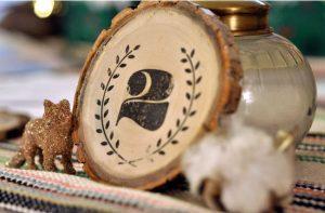 The Best DIY Wedding Ideas: Vintage Wood Table Numbers
