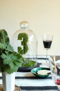 The Best DIY Wedding Ideas: Moss Table Numbers