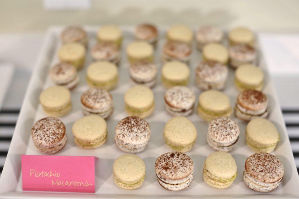 Dessert Tasting Bridal Shower Menu - Pistachio and Hazelnut Macaroons
