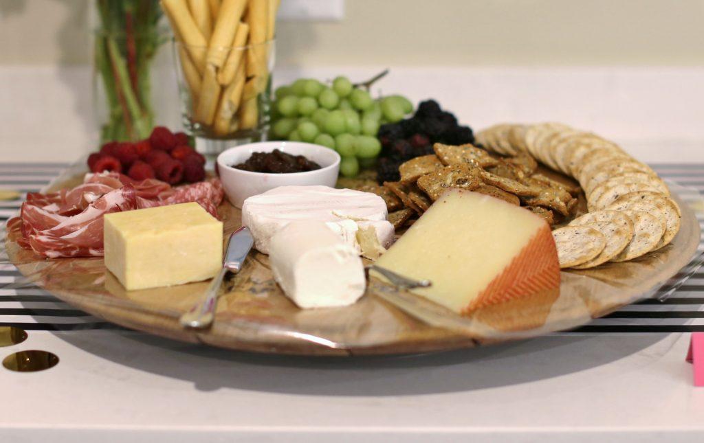 Dessert Tasting Bridal Shower Menu - Charcuterie Platter