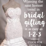 Announcing Sweepstakes to Win A Custom Wedding Dress Sculpture