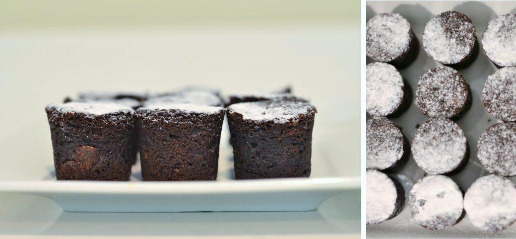 Dessert Tasting Bridal Shower Menu - Chocolate Bouchons
