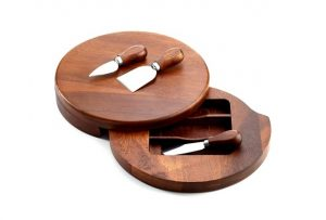 Gifts We Love for Entertaining: Cheese Board with Knife Set