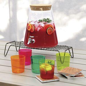 Gifts We Love for Entertaining: Glass Beverage Dispenser
