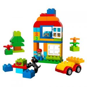 Gifts We Love for a One Year Old: Lego Duplo All-in-One Box of Fun