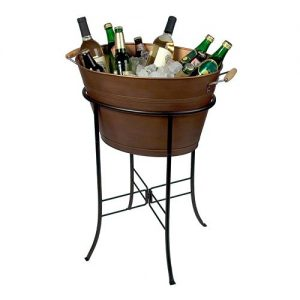 Gifts We Love for Entertaining: Copper Oval Party Tub