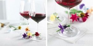 Gifts We Love for Entertaining: Floral Wine Charms