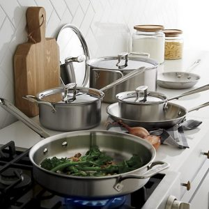Gifts We Love for the Cook: All-Clad d5 10-Piece Cookware Set
