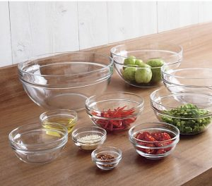 Gifts We Love for the Cook: 10-Piece Glass Nesting Bowl Set