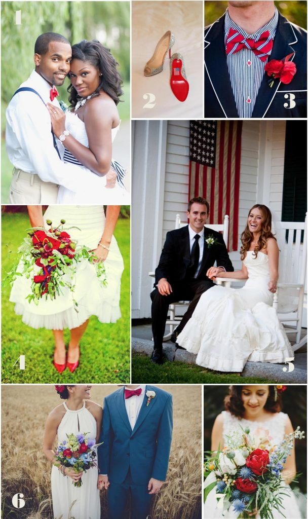 Fourth of July Wedding Inspiration: The Couple