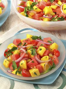 Cool and Easy Summer Baby Shower Menu - Mango Salad