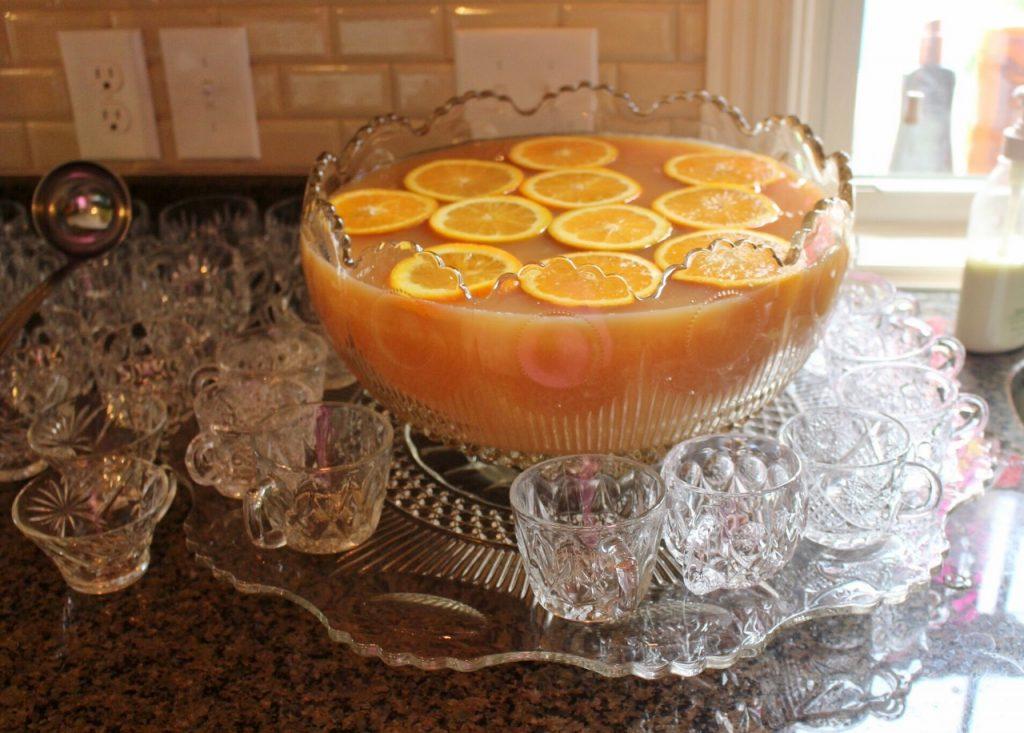Easy Graduation Party: Citrus Fruit Punch